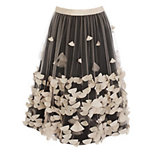 Buy Coast Decorine Skirt, Neutral Online at johnlewis.com