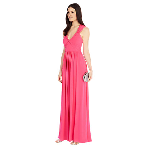 Buy Coast Branda Maxi Dress, Pink Online at johnlewis.com
