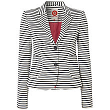 Buy White Stuff Dover Stripe Blazer, Navy Online at johnlewis.com