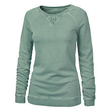 Buy Fat Face Vikki Lace Crew Neck Sweatshirt Online at johnlewis.com