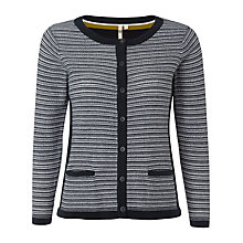 Buy White Stuff Dessa Cardigan, Dark Ink Online at johnlewis.com
