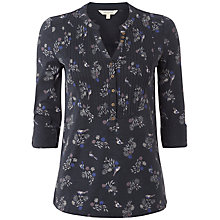 Buy White Stuff Seashell Shirt, Dark Atlantic Online at johnlewis.com