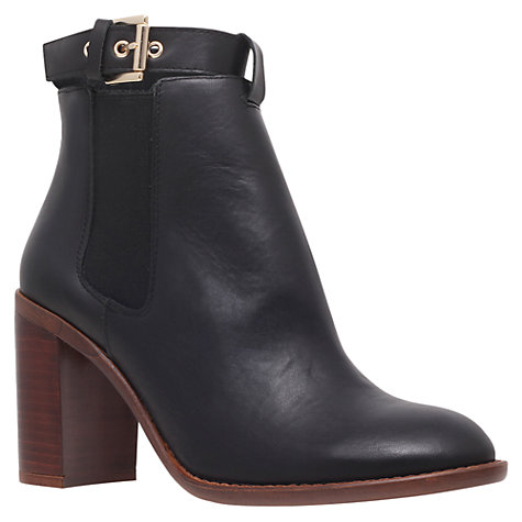 Buy KG by Kurt Geiger Sebastien Ankle Boots, Black Online at johnlewis.com