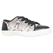 Buy KG by Kurt Geiger Flat Low Top Trainers Online at johnlewis.com