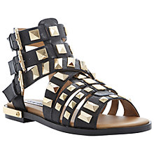 Buy Steve Madden Herra Leather Studded Sandals Online at johnlewis.com