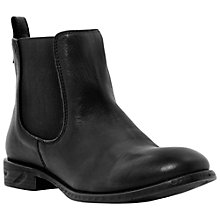 Buy Steve Madden Treacy Leather Ankle Boots Online at johnlewis.com