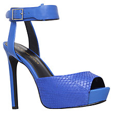 Buy KG by Kurt Geiger Hayley Leather Court Shoes Online at johnlewis.com