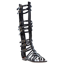Buy Steve Madden Sparta Sandals, Black Online at johnlewis.com