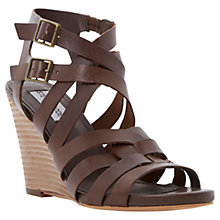 Buy Steve Madden Venis Sandals, Tan Online at johnlewis.com