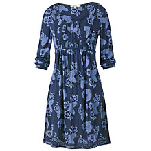Buy Fat Face Jessica Butterfly Dress, Indigo Online at johnlewis.com