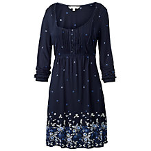Buy Fat Face Jessica China Dress, Navy Online at johnlewis.com