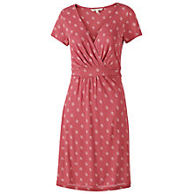 Buy Fat Face Camille Floral Dress, Navy Online at johnlewis.com