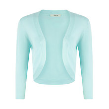 Buy Precis Petite Shrug, Aqua Online at johnlewis.com