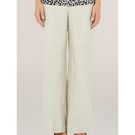 Buy Precis Petite Crinkle Trousers Online at johnlewis.com