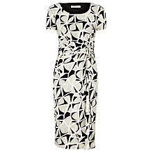 Buy Precis Petite Abstract Print Jersey Dress, Multi Online at johnlewis.com