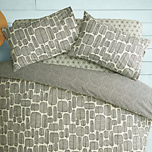 Buy MissPrint Home Little Trees Duvet Cover and Pillowcase Set, Monochrome Online at johnlewis.com