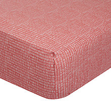 Buy MissPrint Home Dashes Fitted Sheet Online at johnlewis.com