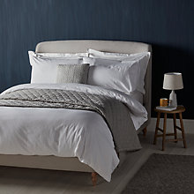 Buy John Lewis Croft Collection Strada Seersucker Stripe Bedding Online at johnlewis.com