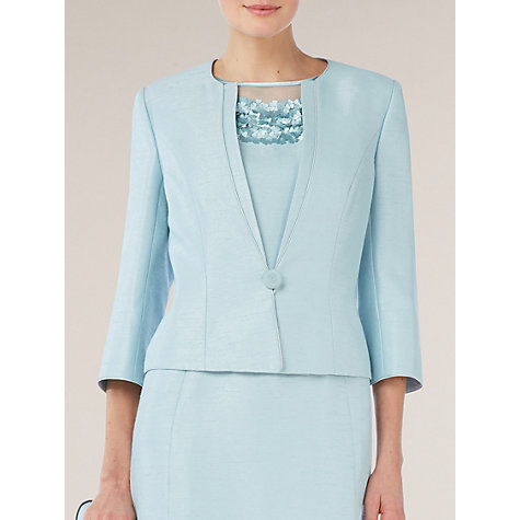 Buy Jacques Vert Occasion Jacket, Blue Online at johnlewis.com