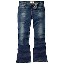 Buy Fat Face Flare Blue Vintage Jeans, Denim Online at johnlewis.com