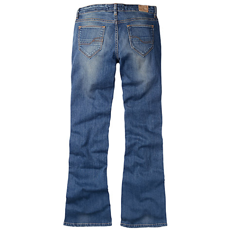 Buy Fat Face Flare Light Used Jeans, Denim Online at johnlewis.com