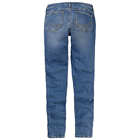 Buy Fat Face Supersoft Superskinny Light Used Jeans, Denim Online at johnlewis.com