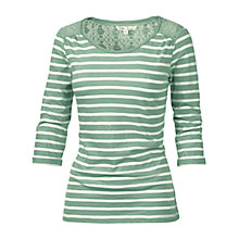 Buy Fat Face Canterbury Stripe T-Shirt Online at johnlewis.com
