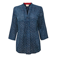 Buy East Spot Shirt, Indigo Online at johnlewis.com