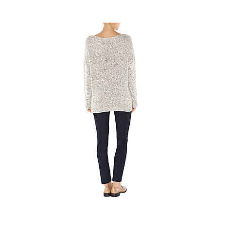 Buy Hobbs Claudine Jumper, Natural Online at johnlewis.com