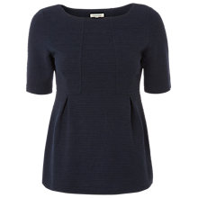 Buy White Stuff Suzie Peplum Top, Dark Ink Online at johnlewis.com