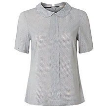 Buy White Stuff Eton Top, Chalk White Online at johnlewis.com