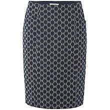 Buy White Stuff Connie Spot Skirt, Dark Ink Online at johnlewis.com