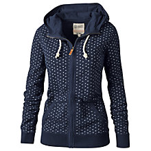Buy Fat Face Erina Micro Geo Zip Thru Hoody Online at johnlewis.com