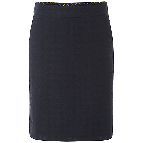 Buy White Stuff Daisy Chain Skirt, Dark Ink Online at johnlewis.com