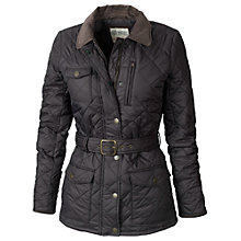 Buy Fat Face Keswick Quilted Jacket, Phantom Online at johnlewis.com