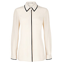Buy Planet Champagne Contrast Blouse, Neutral Online at johnlewis.com