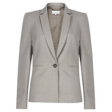 Buy Hobbs Tamara Jacket, Soft Grey Online at johnlewis.com