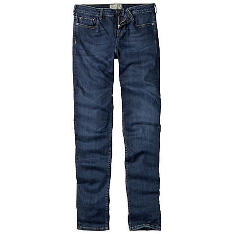 Buy Fat Face Supersoft Superskinny Dark Vintage Jeans, Denim Online at johnlewis.com