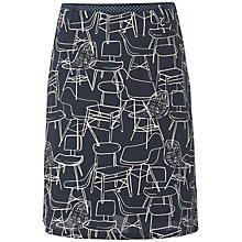 Buy White Stuff Chairs Skirt, Dark Ink Online at johnlewis.com