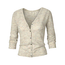 Buy Fat Face Multi Marl Cardigan, Ivory Online at johnlewis.com
