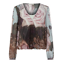 Buy Kaliko Canvas Rose Top, Multi Online at johnlewis.com