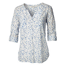 Buy Fat Face Mollie Peacock Print Popover Online at johnlewis.com