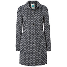 Buy White Stuff Burlington Coat, Dark Ink Online at johnlewis.com