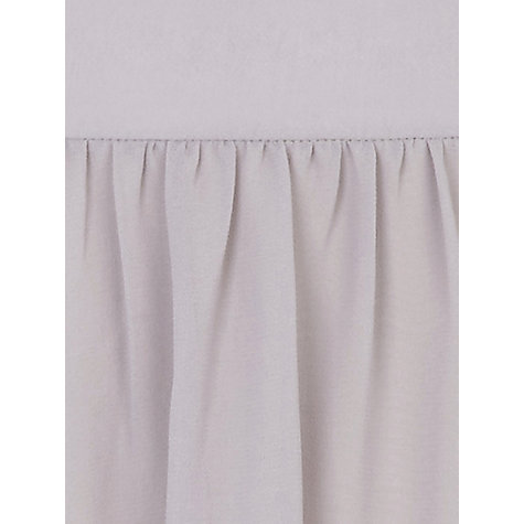 Buy Kaliko Soft Pleated Skirt, Grey Online at johnlewis.com