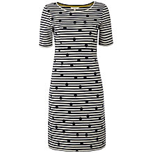 Buy White Stuff Mono Spot Dress, Dark Ink Online at johnlewis.com