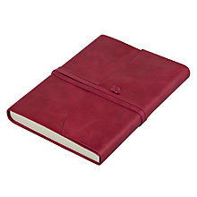 Buy Amalfi Leather Wrap Journal Online at johnlewis.com