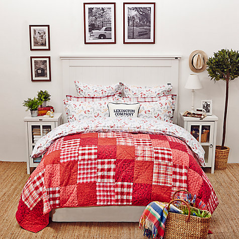 Buy Lexington The Spring Collection Floral Print Sateen Bedding Online at johnlewis.com