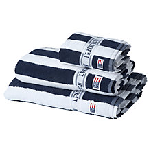 Buy Lexington Icons Authentic Stripe Towels Online at johnlewis.com