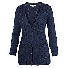 Buy Fat Face Leigh Cable Cardigan Online at johnlewis.com