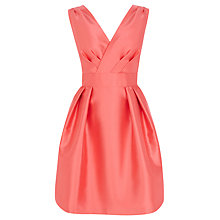 Buy Coast Riley Dress, Coral Online at johnlewis.com